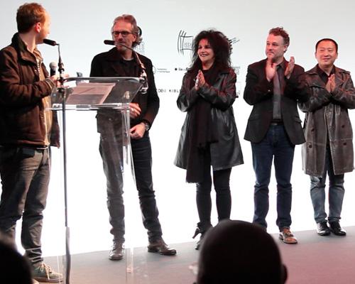 Soirée de remise du Prix Cube 2016