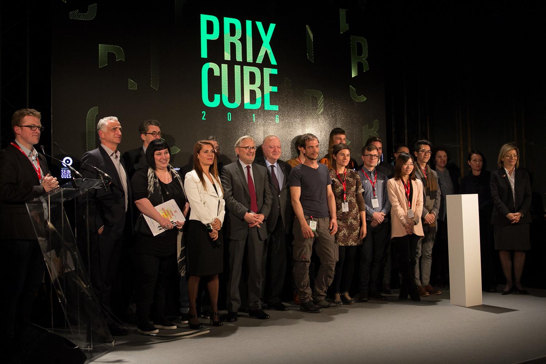 Inauguration Prix Cube 2016