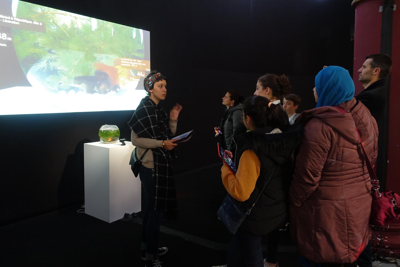 Exposition / Ateliers Prix Cube 2016